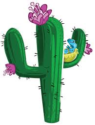 (Cactus With Flower)