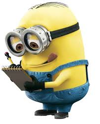 Minion Writing