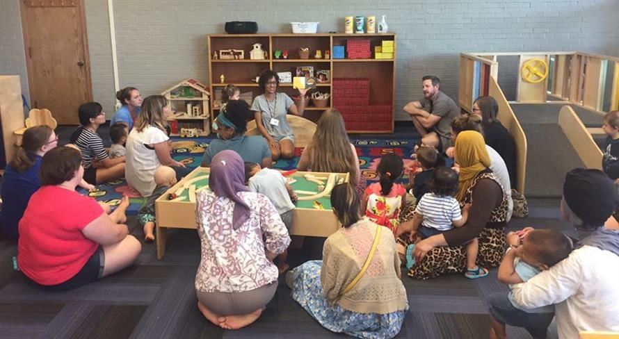Playgroup Book Reading