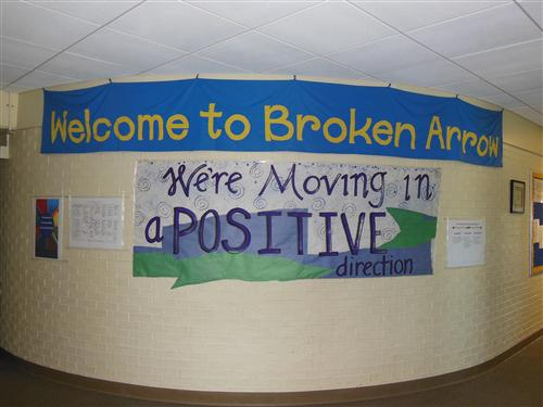 We're Moving In A Positive Direction Poster