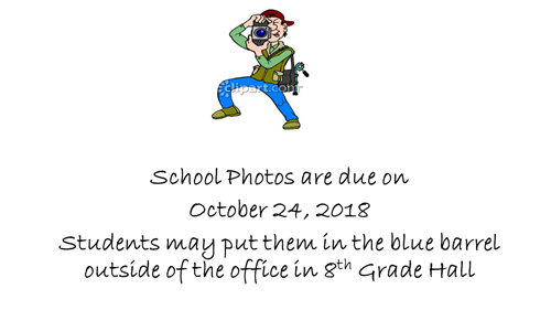 School Photo Return Date