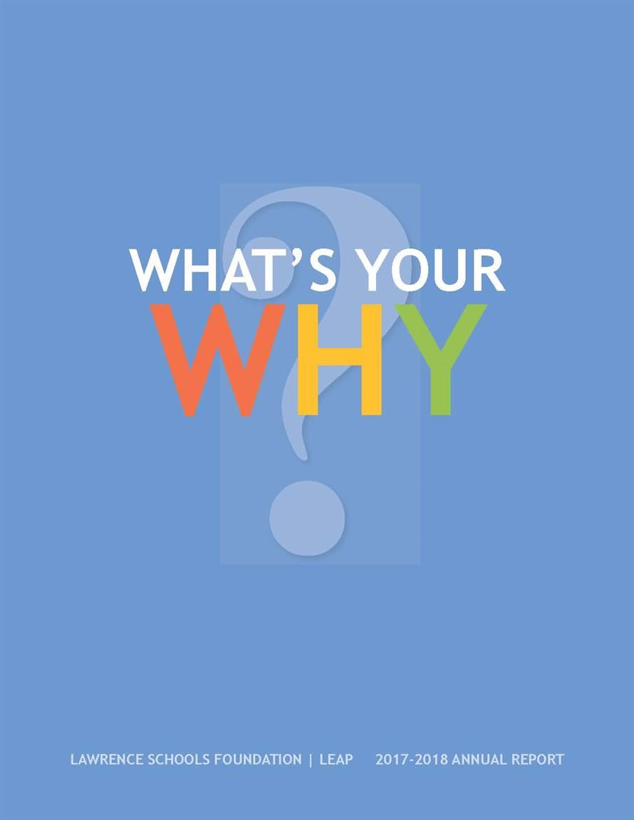 2017 Founation Annual Report - What's Your Why