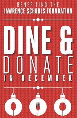 Dine and Donate In December Poster