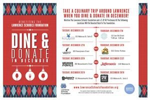 Dine and Donate Poster