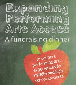 Expanding Performing Arts Access fundraising dinner