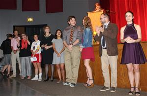 Allen Press Teacher of the Year honor at Lawrence High School