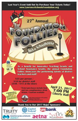 Foundation Follies Poster