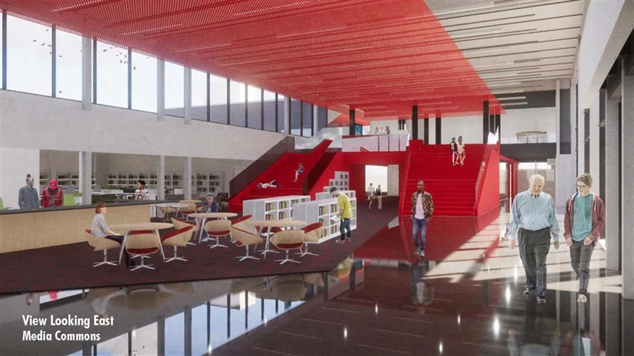 Architect Rendering of Lawrence High Bond Project