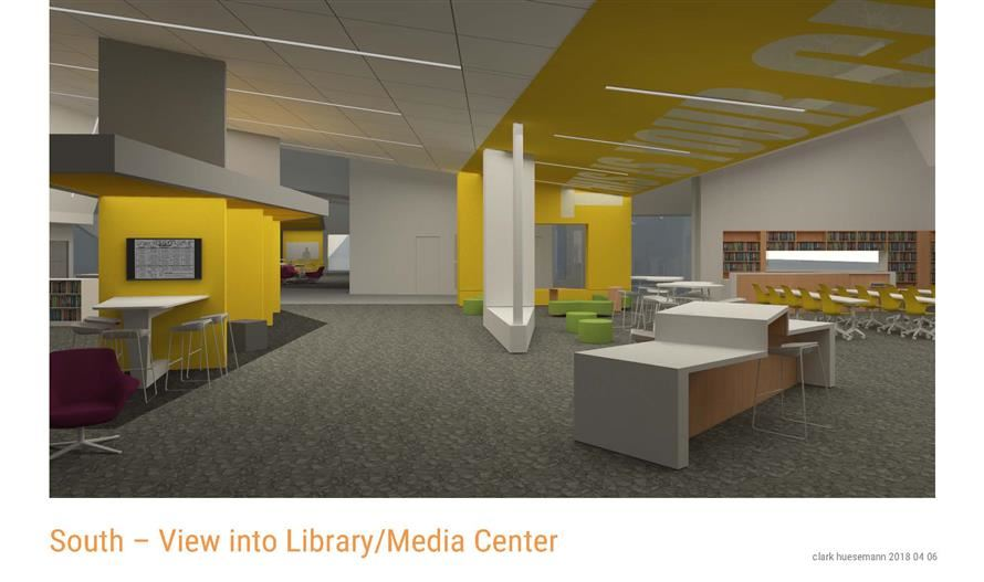 Image of South Middle School Library Media Center