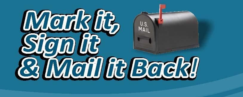 mail box with red flag up