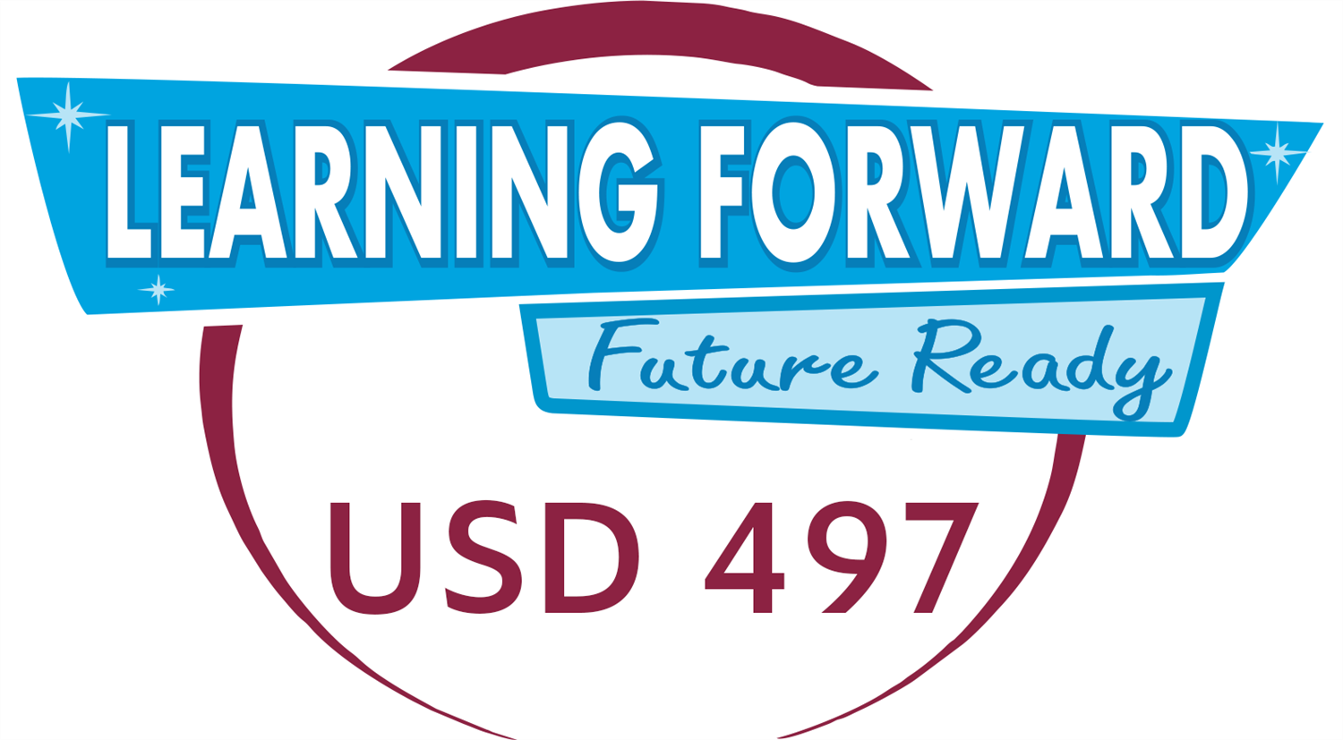 circle with banner Learning Forward Future Ready USD 497