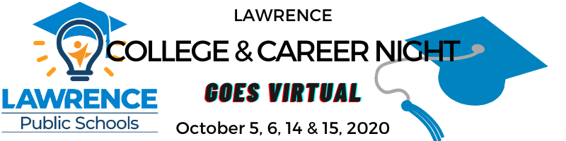 Lawrence College & Career Night GOES VIRTUAL Oct 5, 6, 14 and 15, 2020
