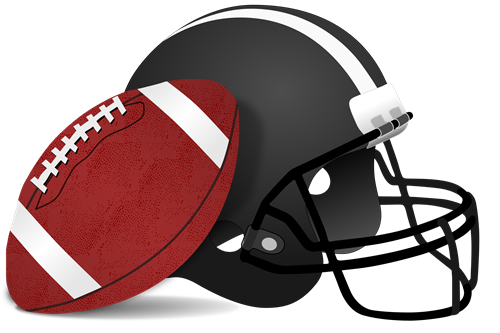 helmet and ball