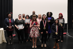 student, staff, and community award winners
