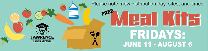 free meal kits for children Fridays June 11-August 6