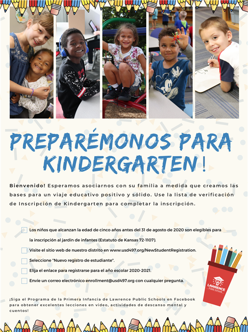 Kindergarten enrollment sp