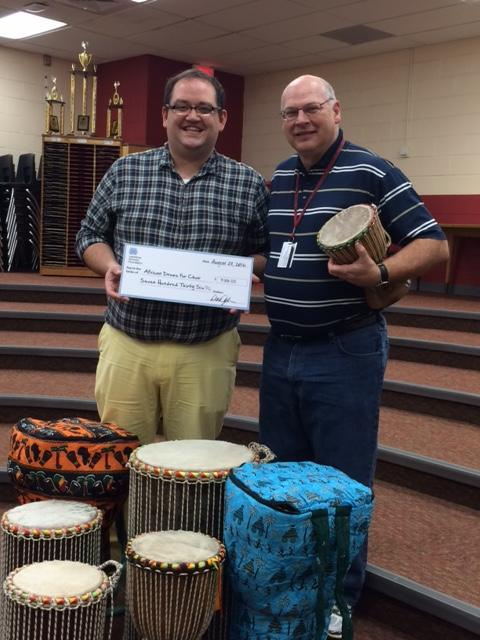 The African Drums grant was the first grant recognized this week.