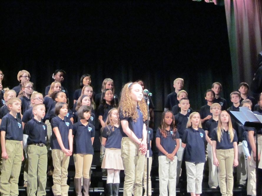 The choir is one of just three elementary choirs in the state heading to Wichita.