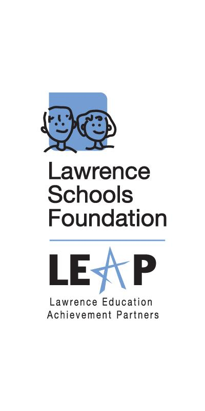 Lawrence Schools Foundation and LEAP logo